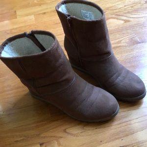 Ugh Style High Heeled Boots